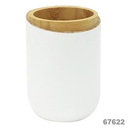 Accesorios para  Baño Blanco Bamboo