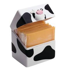 Envase Porta Queso Diseño de Vaca Joie