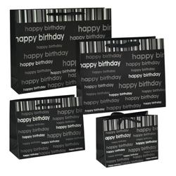 Funda de Regalo Happy Birthday Negra