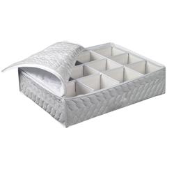 Protector Blanco para Tazas con 12 Compartimentos