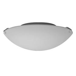 Plafón de Vidrio  Circular   Arenado 40w