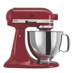 Batidora de 4 litros Roja con Base Artisan Kitchen Aid