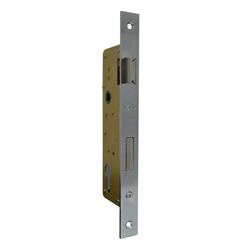 Cerradura de Embutir con Cilindro 35mm para Puerta de Aluminio ISEO