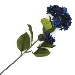 Flor Hortensia Grande Azul