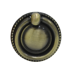 Tiradera Circular Versalles Bronce Antiguo