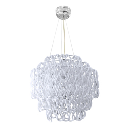 Lámpara de Vidrio Redonda  para Techo