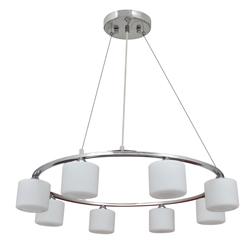 Lámpara para Techo con Anillos Cromados