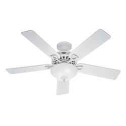 Ventilador Lámpara Blanco 52