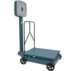 Balanza de Plataforma con LLantas de 500kg Camry