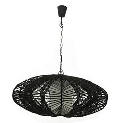 Lámpara para Techo con Diseño Ovoidal