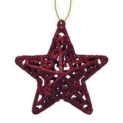 Adorno Navideño con Diseño de Estrella