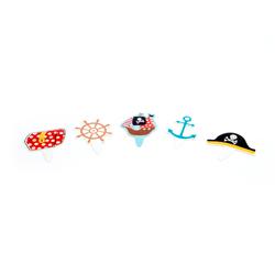 Letrero Ahoy para Cupcake en Set de 40 Piezas Daisy Darcy