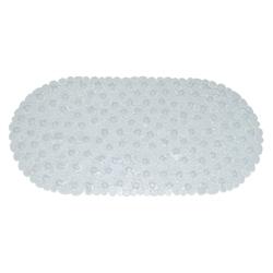Tapete de Caucho para Baño con Diseño de Piedras 70x35cm