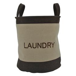 Cestos de Tela Beige Café Laundry