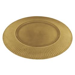 Porta Plato con Diseño de Rayas 32.5cm