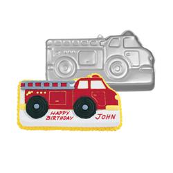 Molde Camión de Bomberos Wilton
