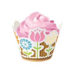 Envolturas Garden para Cupcake en Set de 18 Piezas Wilton