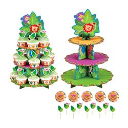 Base Jungle de 3 Pisos para Cupcake  Wilton