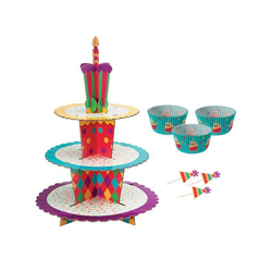 Base Celebration de 3 Pisos para Cupcake  Wilton
