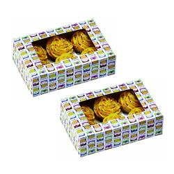 Caja Heaven para Cupcake x 6 en Set de 2 Piezas Wilton
