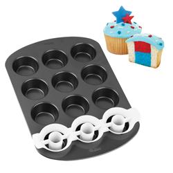 Molde para Cupcake de 2 Tonos Wilton