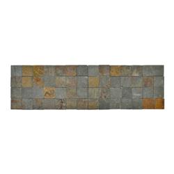 Mosaico Piedra Gris  16x56cm