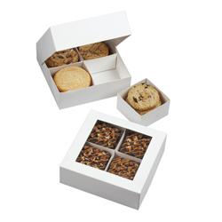 Caja Blanca para Muestras de  Dulces en Set de 3 Piezas Wilton