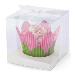 Caja  Transparente para Cupcake en Set de 20 Piezas Wilton