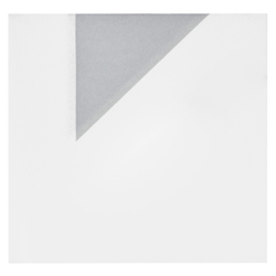 Servilleta Origami Gris Bolsillo 40x40cm  12 Unidades