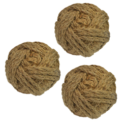 Bolas Decorativas Yute en Set de 3 Piezas Concepts