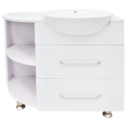 Mueble con Lavamanos Blanco de Sobreponer 84x80cm