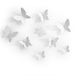 Decoración de Pared Climber Blanco en Set de 9 Piezas Umbra