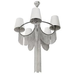 Lámpara  Colgante  con Pantallas Decorativas  y  5 Boquillas