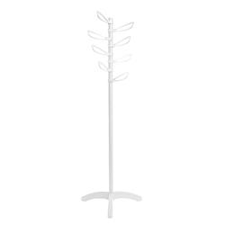 Colgador de Pedestal Yaprak Blanco