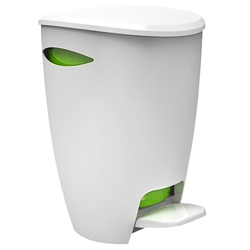 Tacho Blanco Verde de 5 Litros Fely