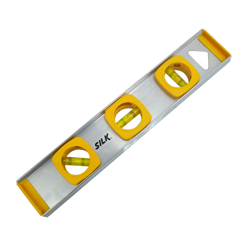 Nivel de Aluminio 3 Gotas 12