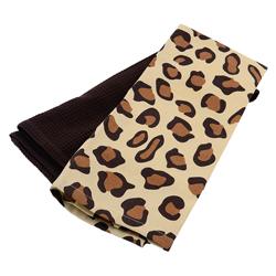 Toalla de Cocina con Diseño de Leopardo en Set de 2 Piezas Concept