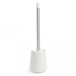 Porta Cepillo Step Blanco para Inodoro Umbra