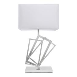 Lámpara para Mesa  con Pantalla  Blanca