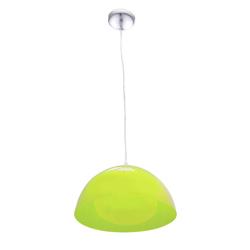 Lámpara Colgante Campana Verde  con 1 Boquilla