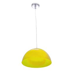 Lámpara Colgante Campana Amarilla con 1 Boquilla