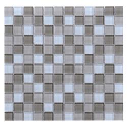 Mosaico de Cristal Mix   Beige Oscuro  30x30cm (.09)