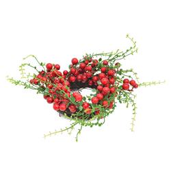 Corona Navideña Cereza Snowberry Noel