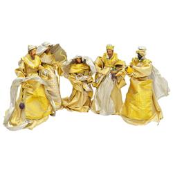 Nacimiento Dorado en Set de 5 Piezas