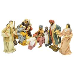 Nacimiento Sagrada Familia en Set de 9 Piezas