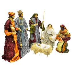 Nacimiento Sagrada  Familia en Set de 6 Piezas