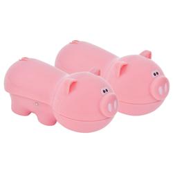 Clip para Bolsa con Diseño de Cerdo en Set de 2 Piezas Joie