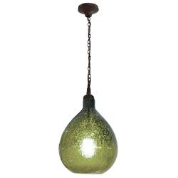 Lámpara Colgante de Vidrio Aqua