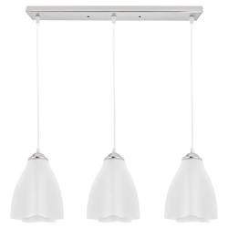 Lámpara  Colgante  de Vidrio con Diseño de Cono
