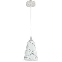 Lámpara Colgante  de Vidrio Glace Lila